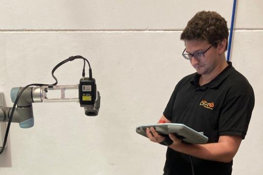 Vector 0 Metrologia Escaner 3d Robotizado