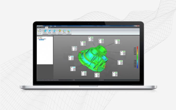 Vector 0 Metrologia ScanViewer Software 3D